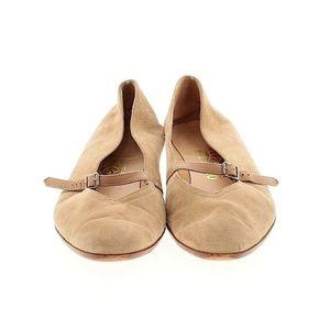 Salvatore ferragamo Audrey ballet flats size 8 tan